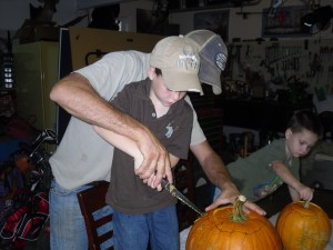 Pumpkin Carving 2009 019