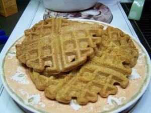 Pumpkin Waffles 007